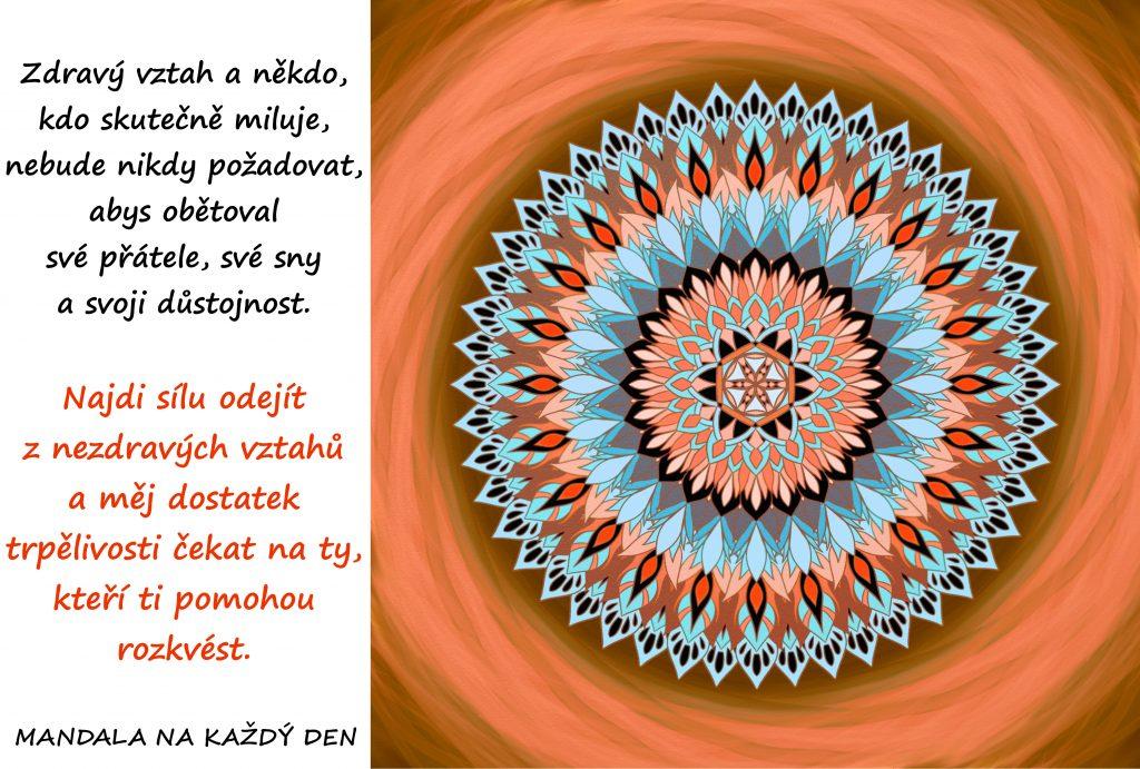 Mandala Pěstuj zdravé vztahy
