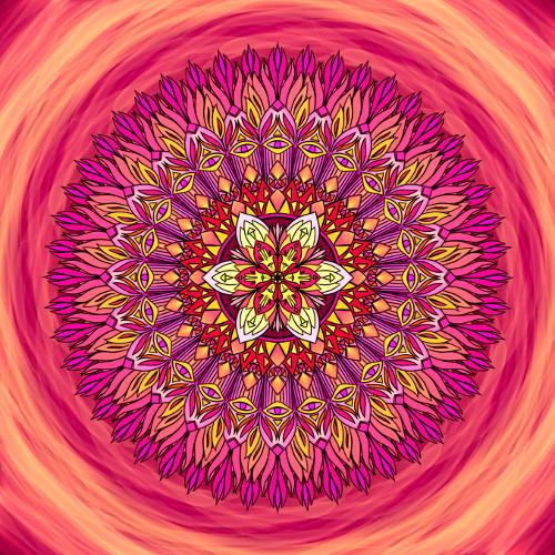 Mandala Spokojenost