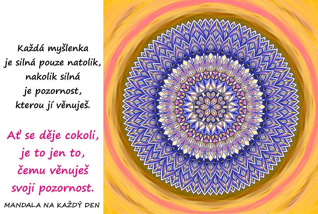 Mandala Ovládej svou pozornost