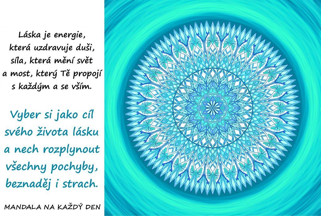 Mandala Láska je energie, síla a most