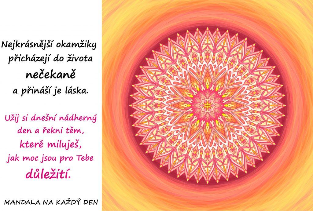 Mandala Kouzlo lásky