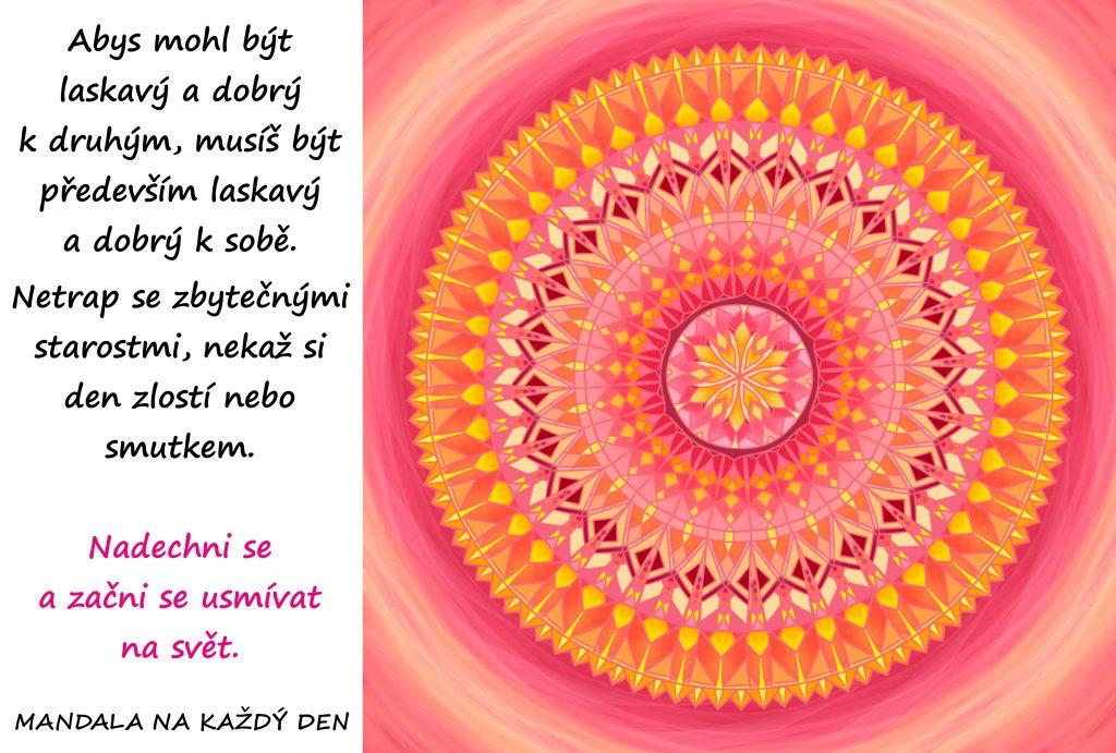 Mandala Buď laskavý k sobě i druhým