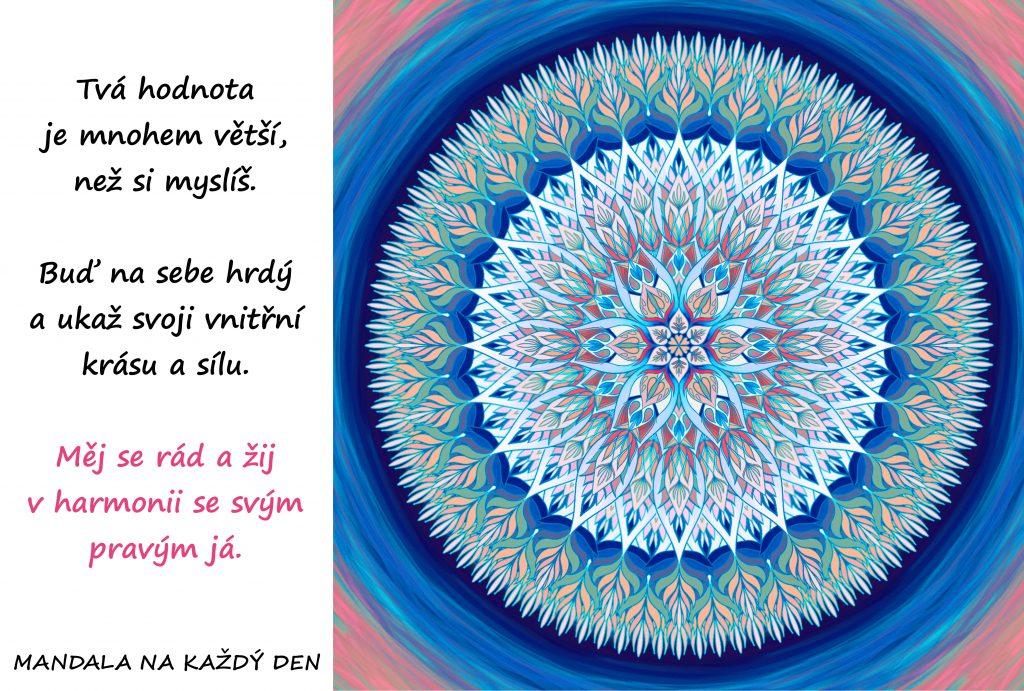 Mandala Ukaž světu svoji vnitřní krásu
