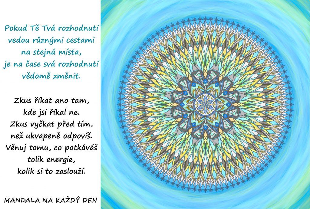 Mandala Vědomá změna