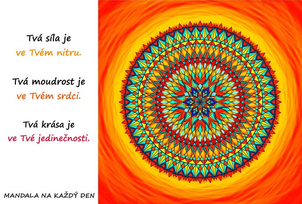 Mandala Síla, moudrost a krása