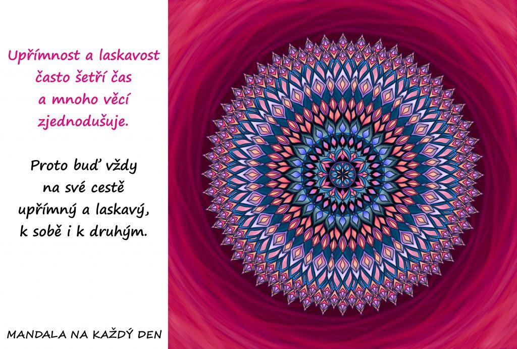 Mandala Upřímnost a laskavost