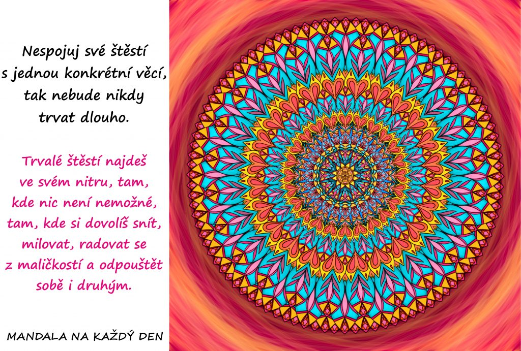 Mandala Najdi si své štěstí