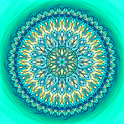 Mandala Uvěř své vnitřní síle