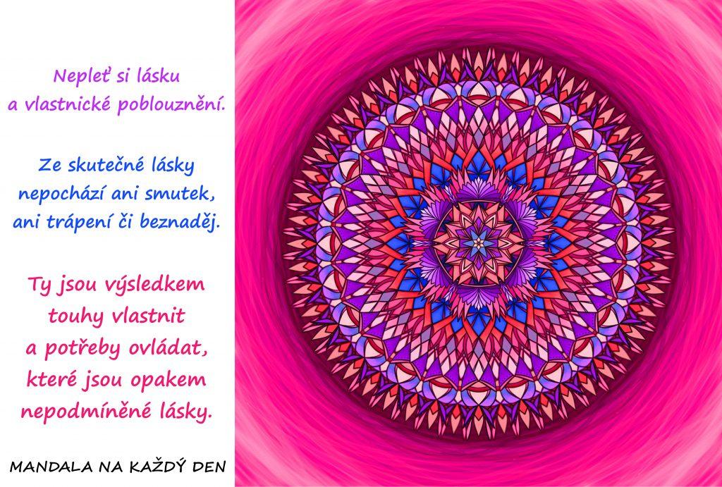 Mandala Nepodmíněná láska