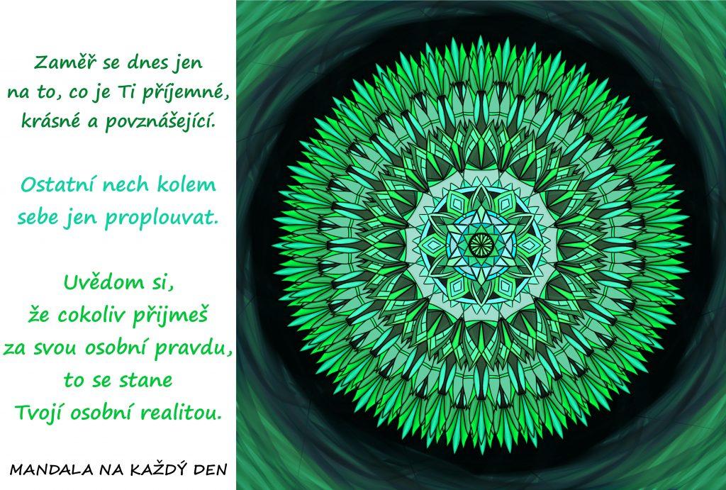 Mandala Vytvoř si krásnou realitu