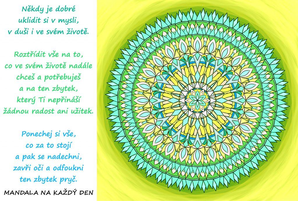 Mandala Udělej si pořádek ve své mysli