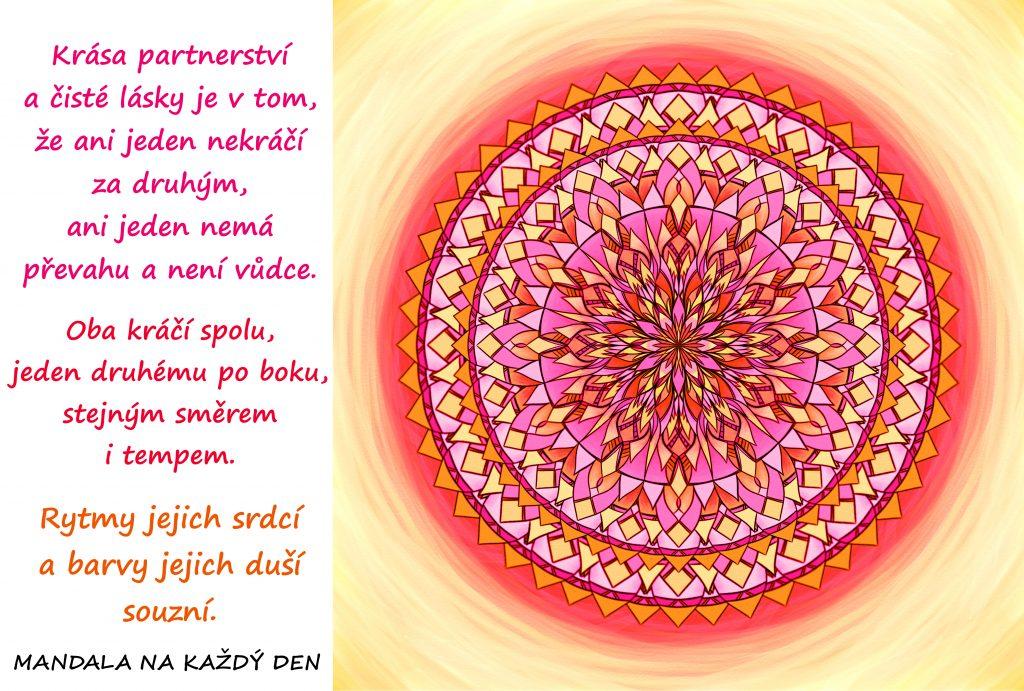 Mandala Krása čisté lásky