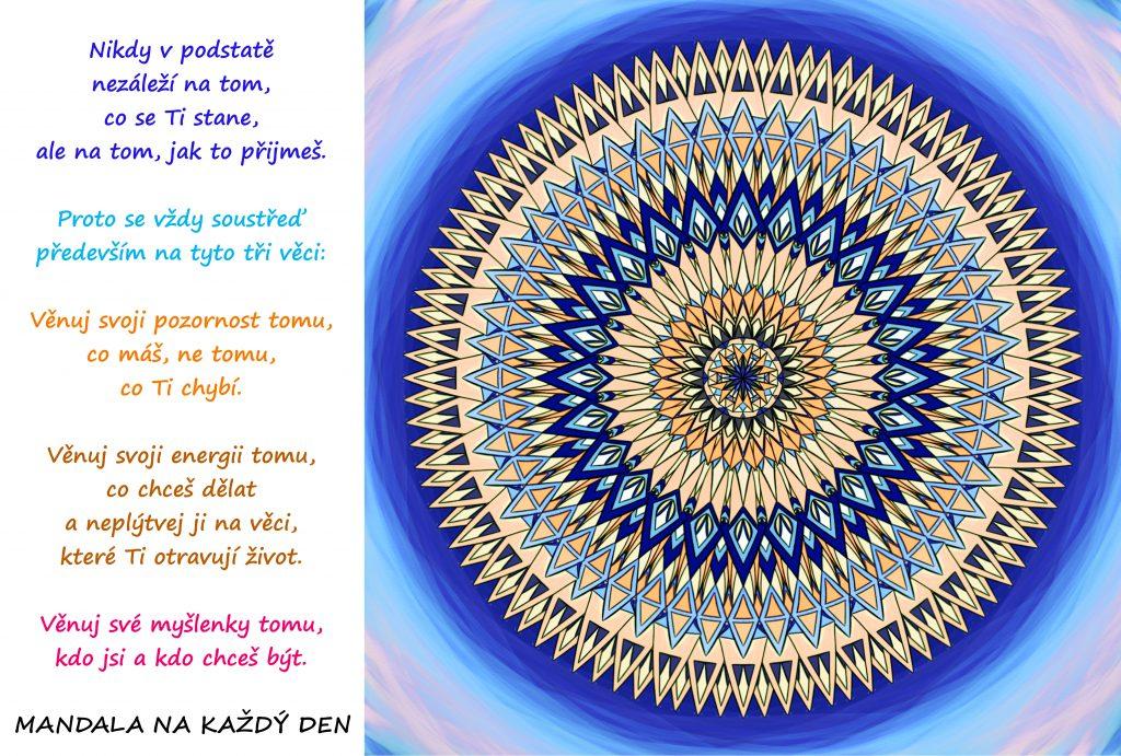 Mandala Síla Tvé pozornosti, energie a myšlenek