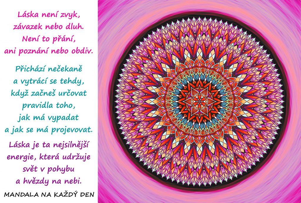Mandala Láska je ta nejsilnější energie