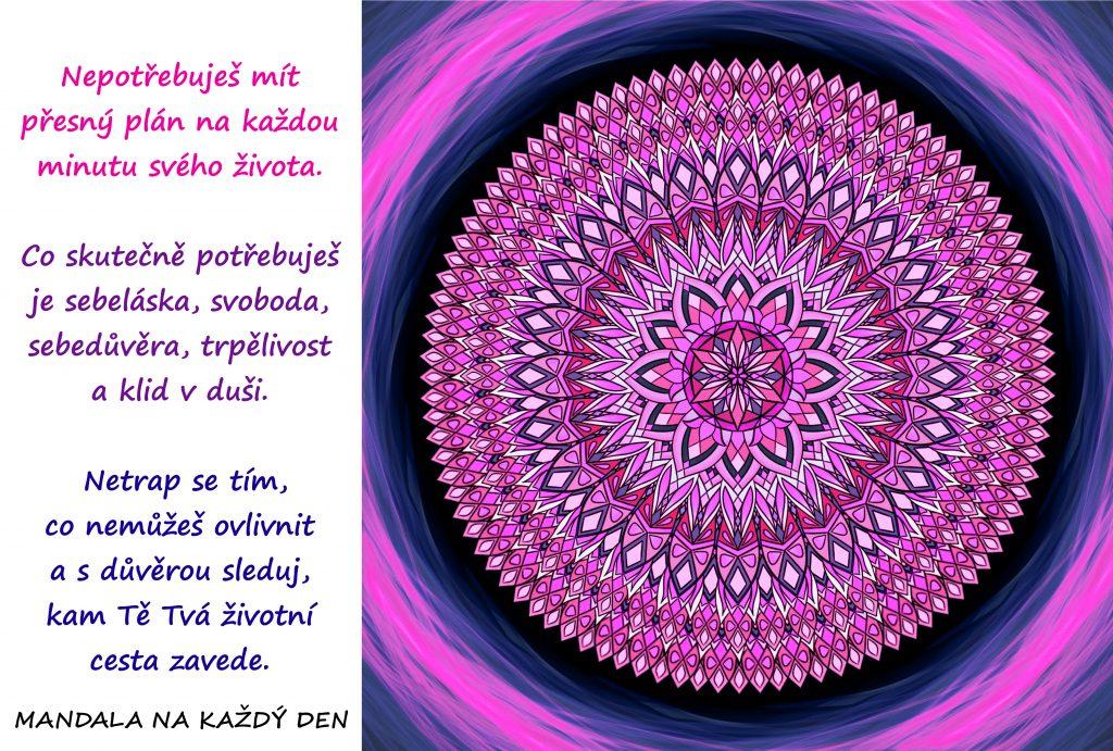 Mandala Sebeláska, sebedůvěra a klid v duši