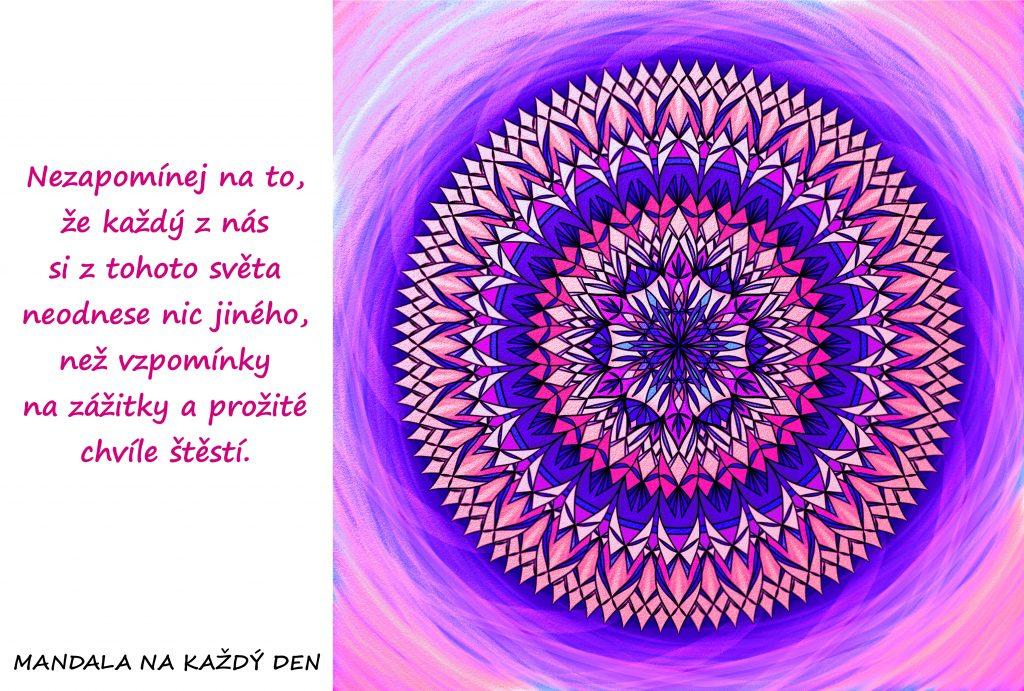 Mandala Prožívej štěstí
