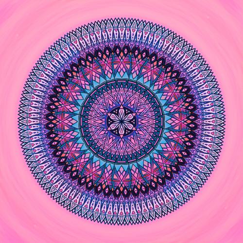 Mandala Přátelé jsou jako hvězdy