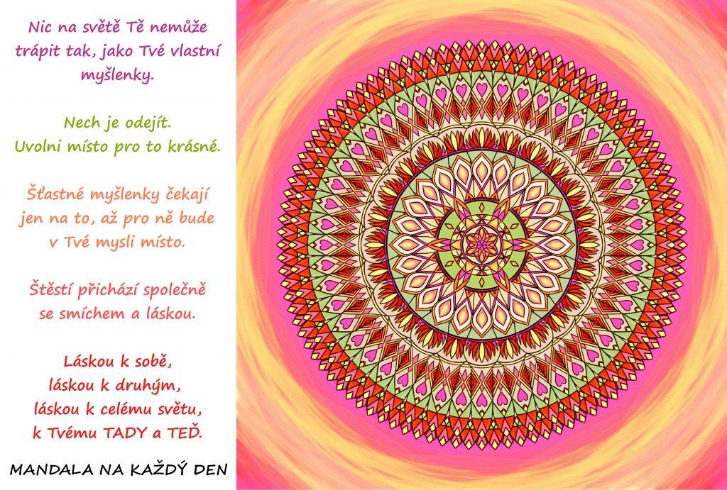 Mandala Vyprázdni si přeplněnou mysl