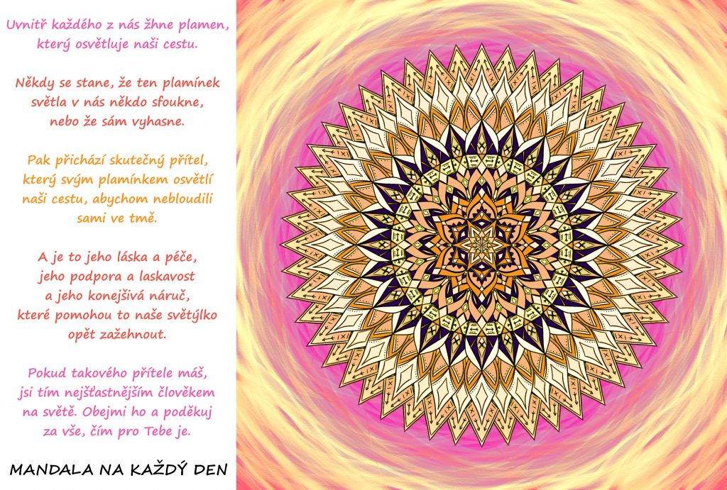 Mandala Světlo života
