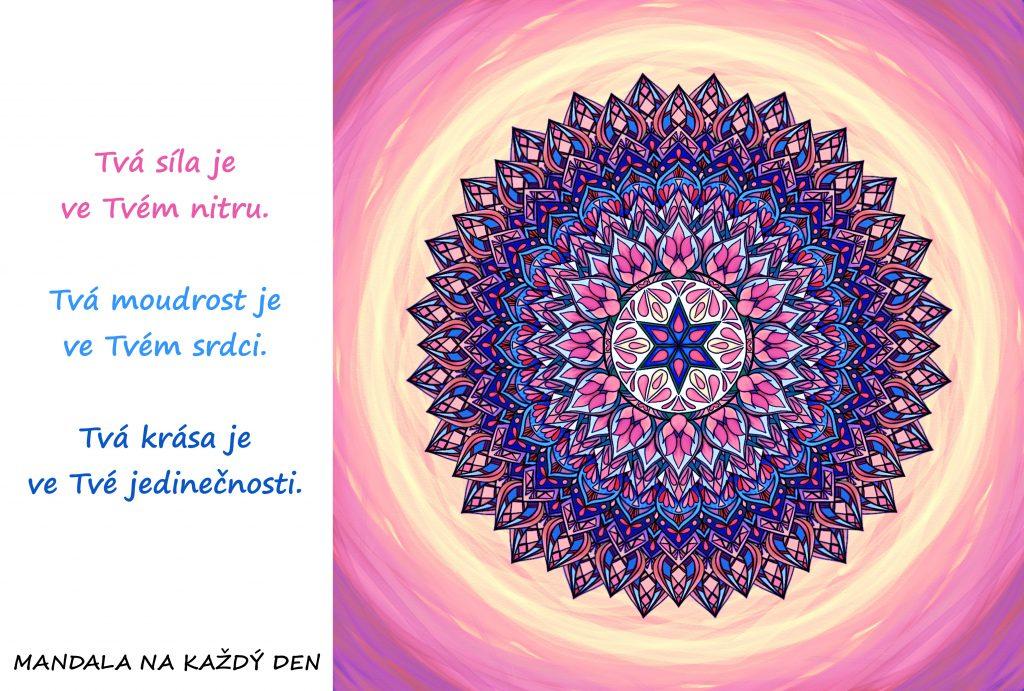 Mandala Síla, moudrost, vnitřní krása