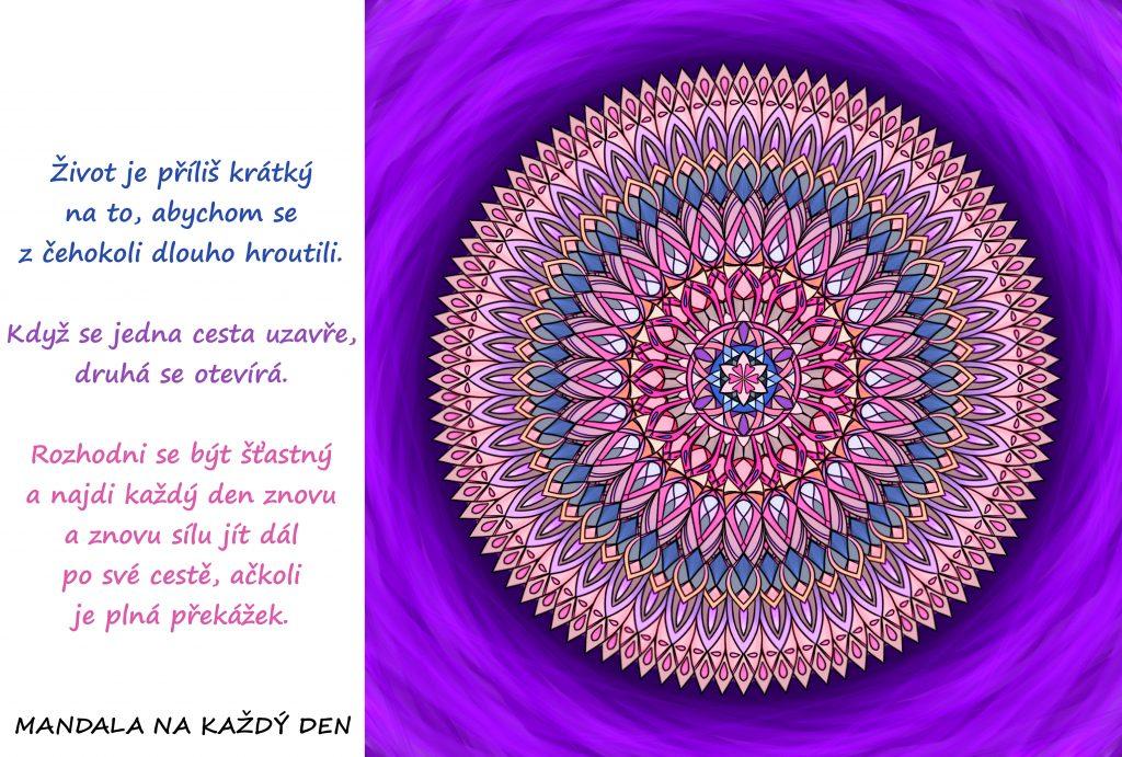 Mandala Nová cesta se otevírá