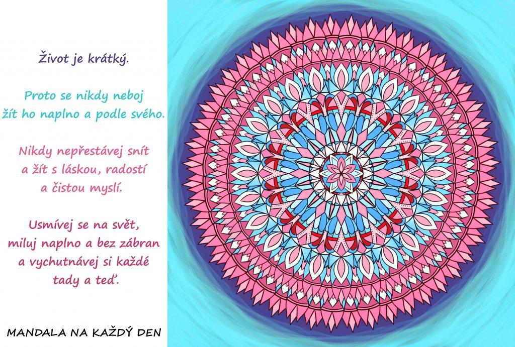 Mandala Neboj se žít podle svého