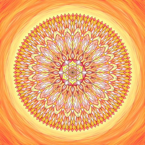 Mandala Má víra