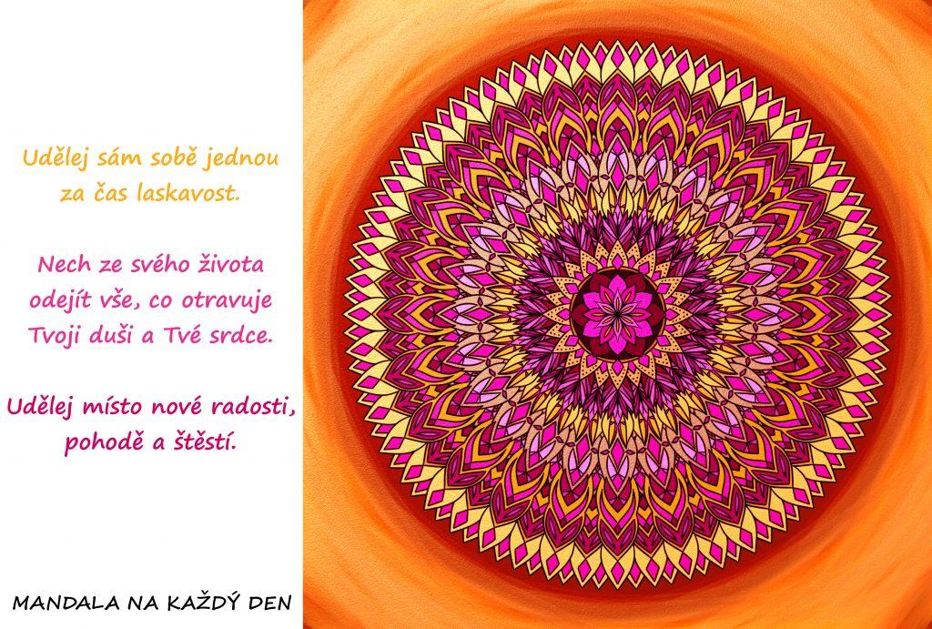 Mandala Udělej sám sobě laskavost