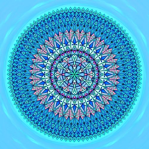 Mandala Život je o rovnováze
