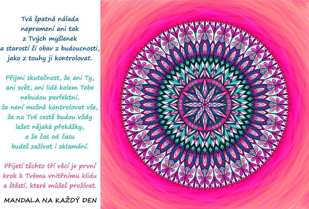 Mandala Není možné kontrolovat vše