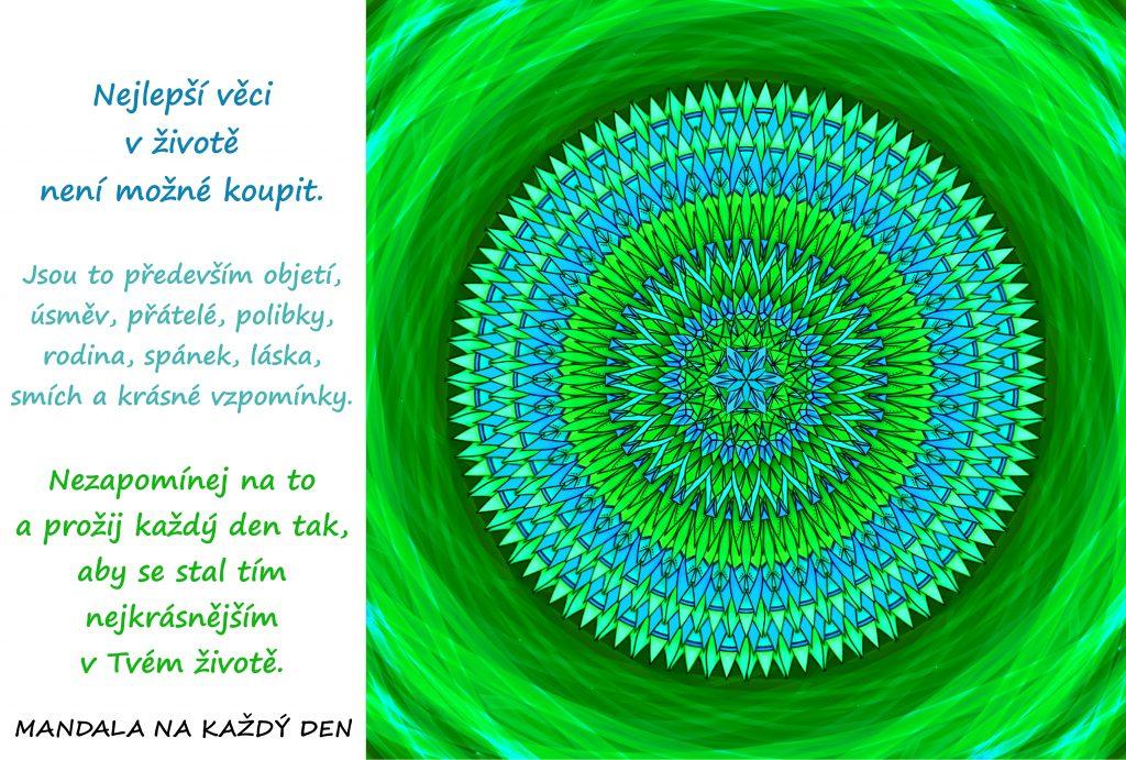 Mandala Nejkrásnější den v životě