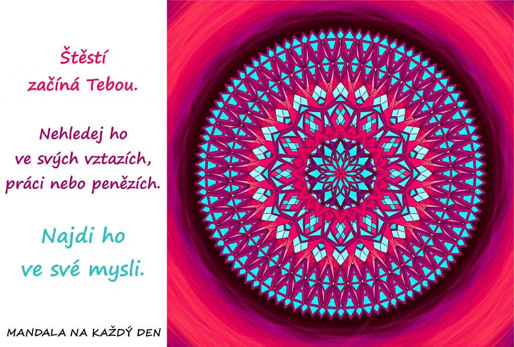 Mandala Štěstí najdeš ve své mysli