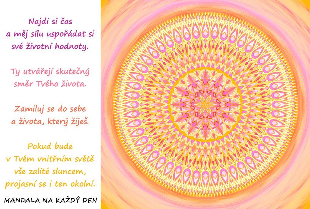 Mandala Životní hodnoty