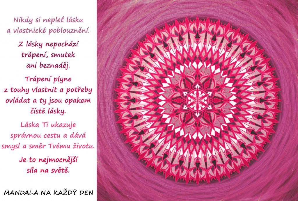 Mandala Síla čisté lásky
