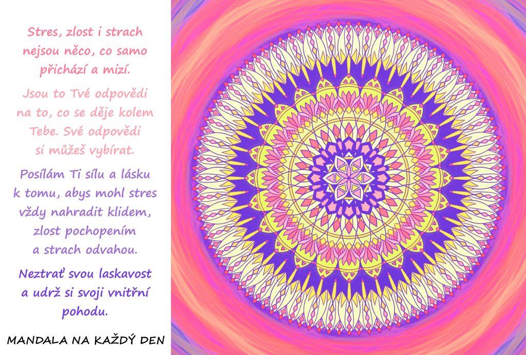 Mandala Laskavost a vnitřní pohoda