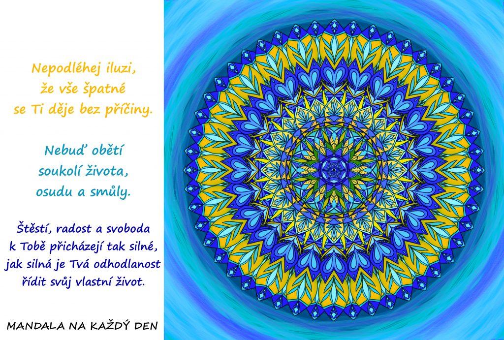 Mandala Najdi sílu řídit svůj život