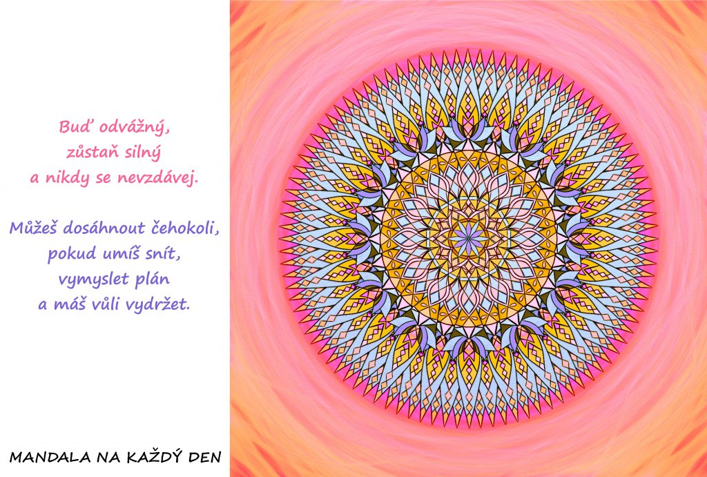 Mandala Dosáhni na své sny