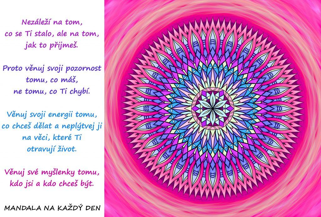 Mandala Síla pozornosti, energie a myšlenek