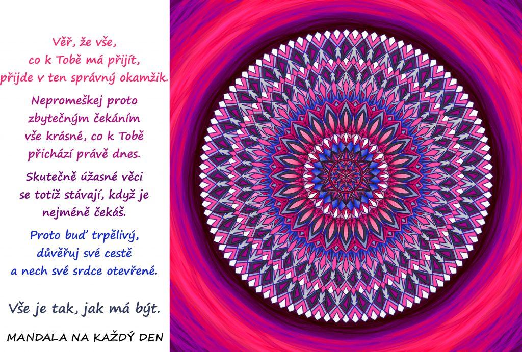 Mandala Důvěřuj své cestě