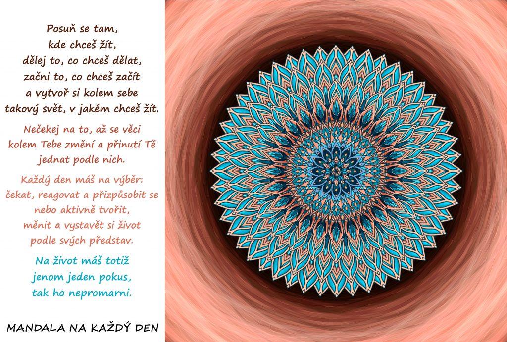 Mandala Vytvoř si svůj život snů