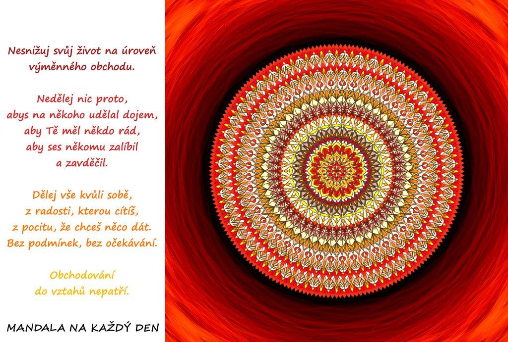 Mandala Pěstuj bezpodmínečnou lásku