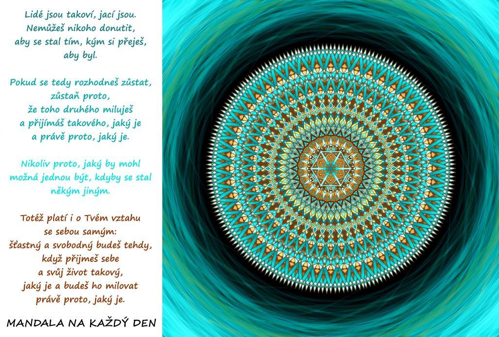 Mandala Síla (sebe)přijetí
