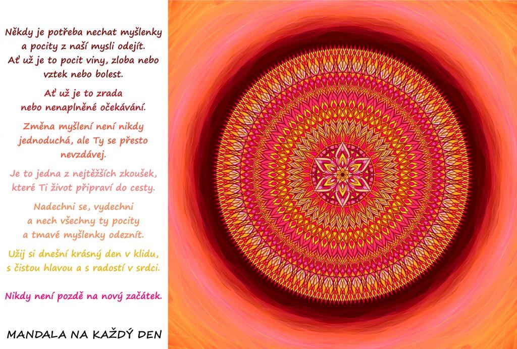 Mandala Změna myšlení