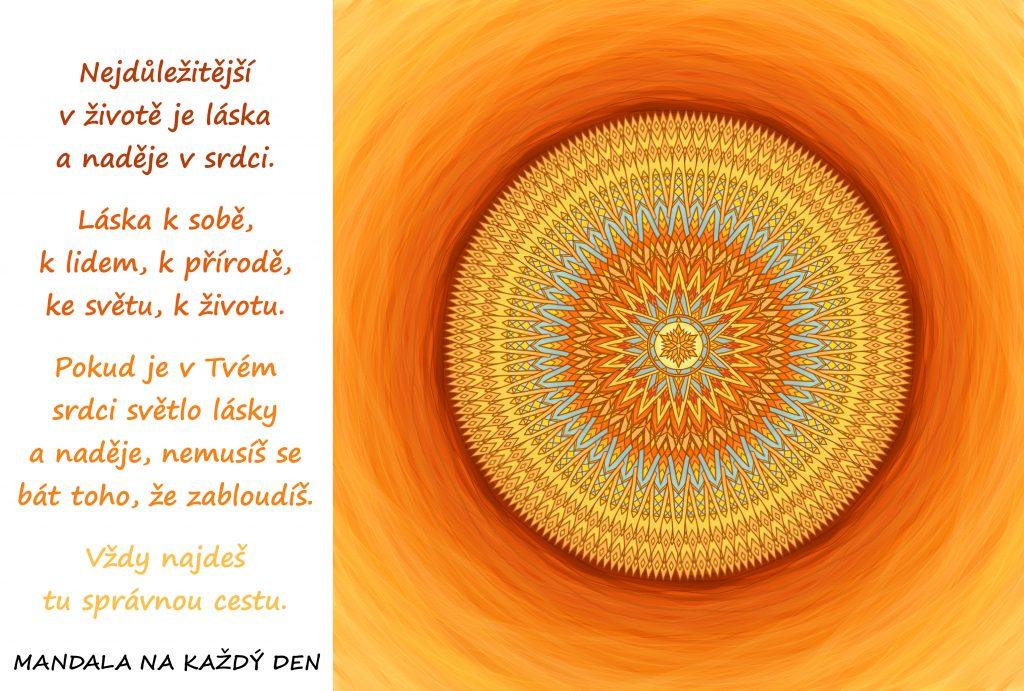 Mandala Láska a naděje