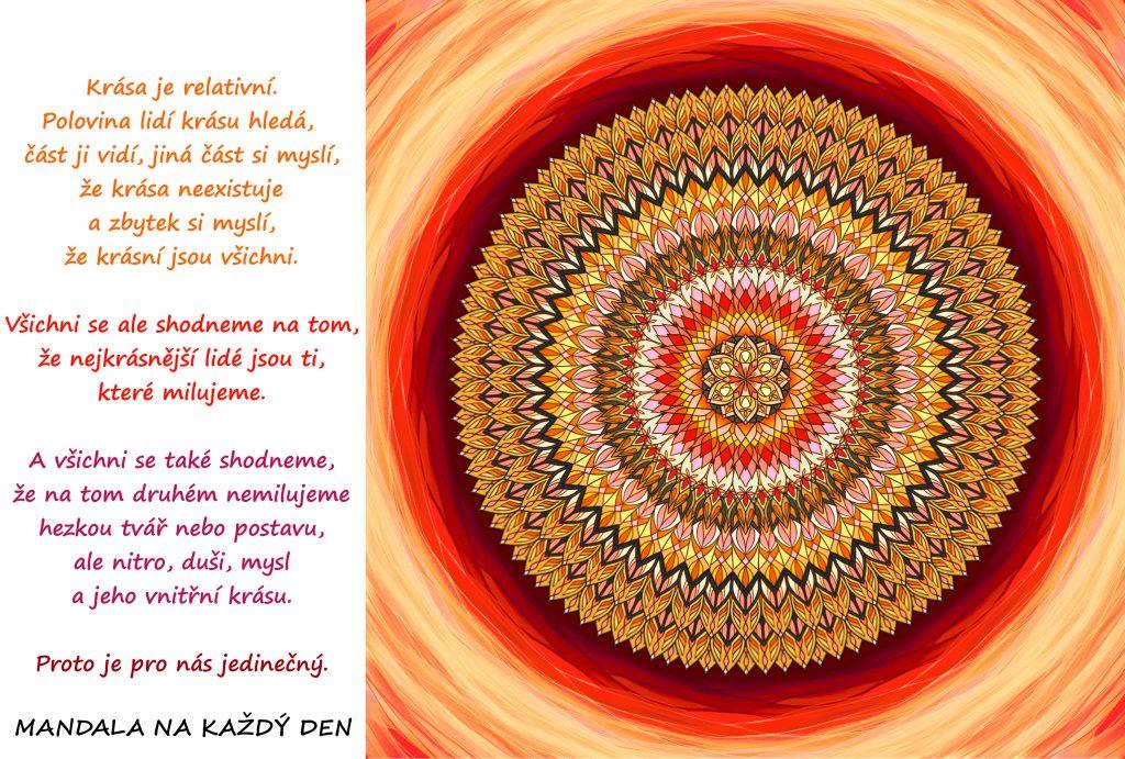 Mandala Tajemství skutečné krásy