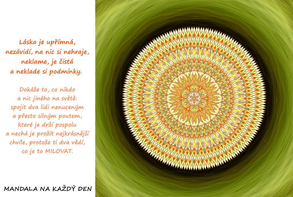 Mandala Upřímná, čistá láska