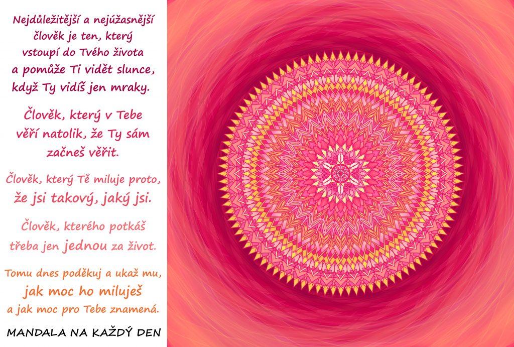 Mandala Síla a krása čisté lásky