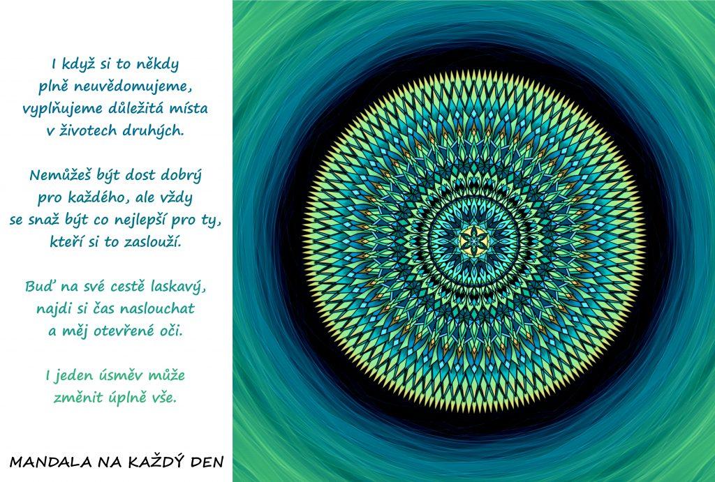 Mandala Pěstuj láskyplné vztahy