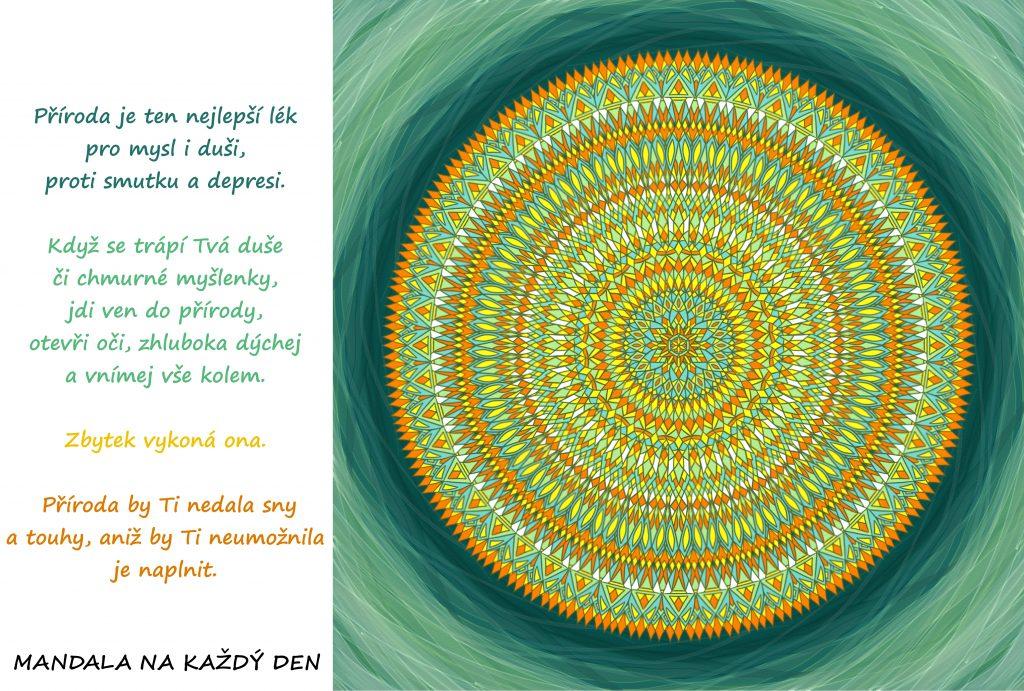 Mandala Nejlepší lék pro mysl i duši