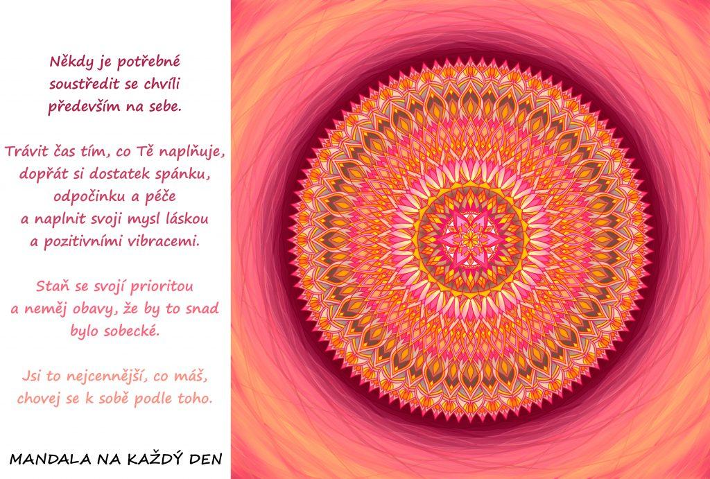 Mandala Soustřeď se na sebe